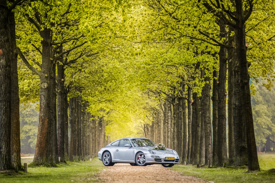 Porsche 911 Trouwauto