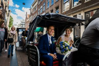 Wedding in Amsterdam