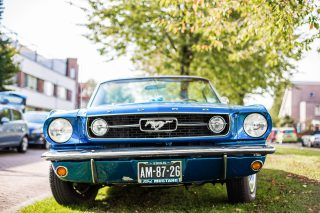 Trouwauto Ford Mustang