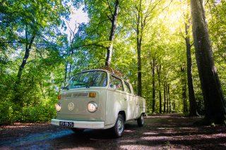 Trouwauto Volkswagen Bus
