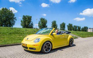 Trouwauto Volkswagen New Beetle