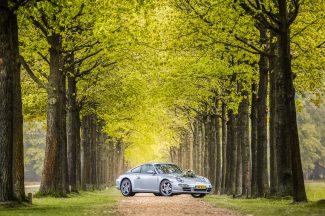 Trouwauto Porsche 911