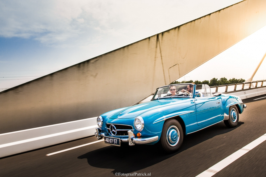 Mercedes 300 SL Trouwauto