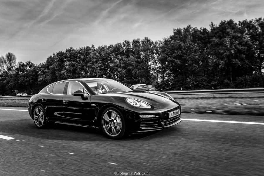Trouwauto Porsche Panamera